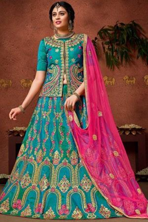 Picture for category Woven Lehenga