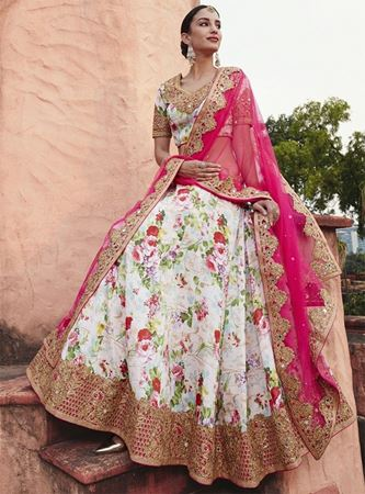 Picture for category Floral Lehengas