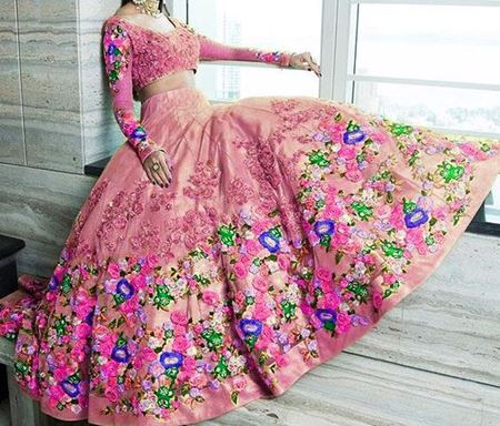 Picture for category Embroidery Lehengas