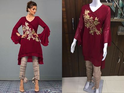 Picture of Designer Glamours Tunic Pant