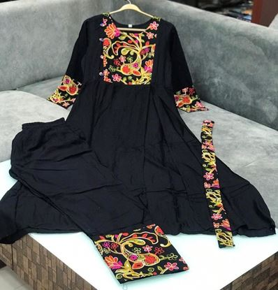 Picture of Heavy Rayon Kurti