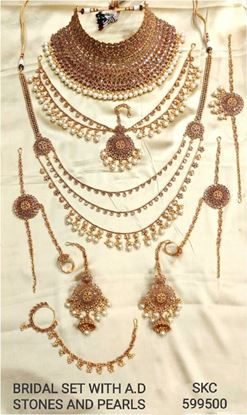 Picture of Beautiful Bridal Jewellary Set