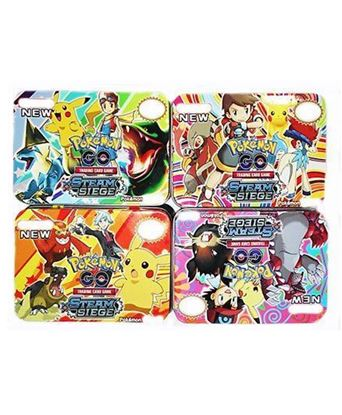 Picture of Emob Pokemon Trading Card Game - Multicolor
