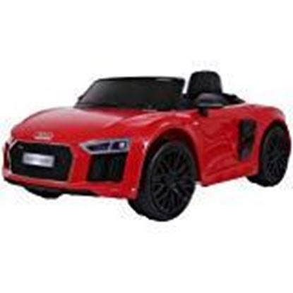 Picture of Jecy Times Battery Operated Ride On Car for Kids with Music, Horn, Headlights with 40Kg Weight Capacity - Red by Jecy Time