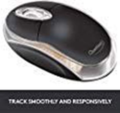 Picture of Terabyte 3D Optical Wired USB Mouse in Black
