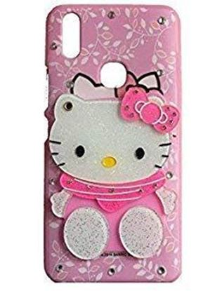 Picture of EMPTYMINDS® Hello Kitty Cute Soft Silicone Girl's Back Case Cover for Samsung Galaxy M30