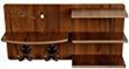 Picture of 7cr Wooden Shelf - (14x7 inches, Brown)