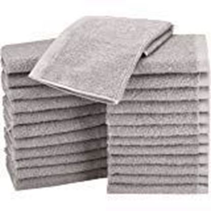 Picture of Cotton Face Towel - Pack of 24, White