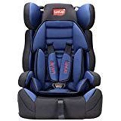Picture of LuvLap Sports Convertible Car Seat for Baby & Kids from 0 Months to 4 Years (Blue)