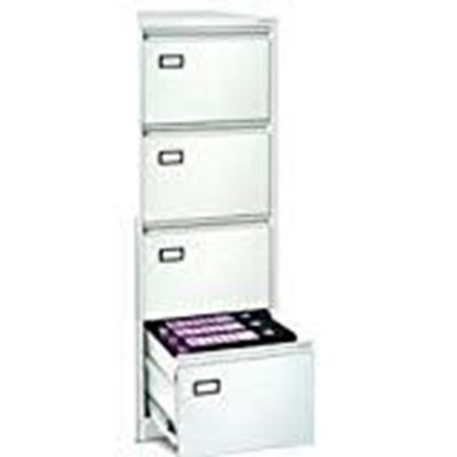Picture of Generic Metal File Cabinet 4 Drawer (Grey)