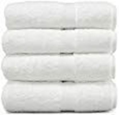 Picture of Fresh from Loom 4 Piece 450 GSM Cotton Face Towel Set - White