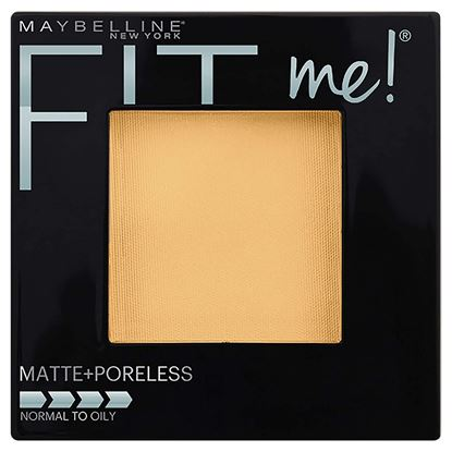 Picture of Maybelline New York Fit Me Matte Poreless Powder, 220 Natural Beige, 8.5g and Maybelline New York The Colossal Liner, 1.2ml (Black)